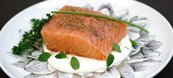 salmão do mar morto