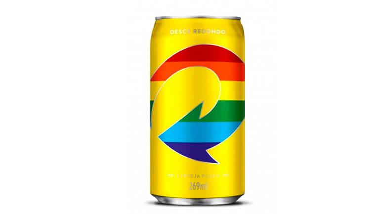 Skol tem latas comemorativas para celebrar orgulho LGBT