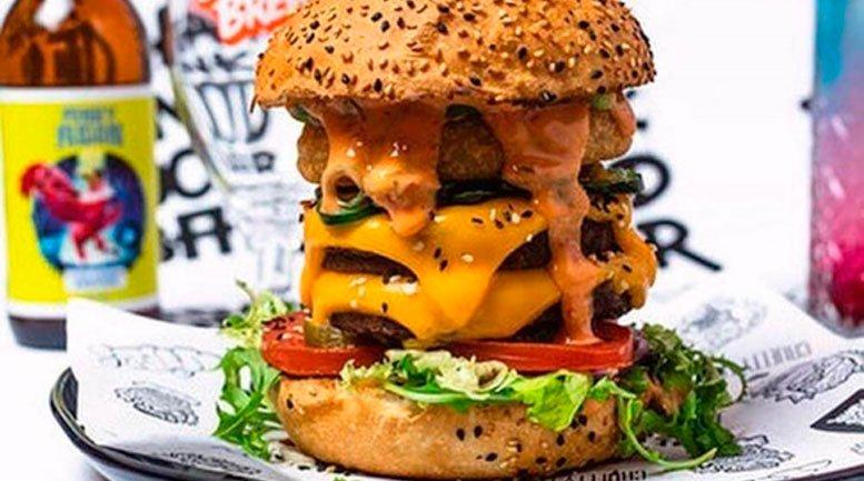 Hambúrguer Vegano Monstro entra na lista dos 10 mais exóticos hambúrgueres do mundo